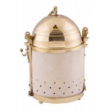Lanterne antique en laiton