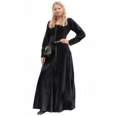 Robe médiévale en velours de coton