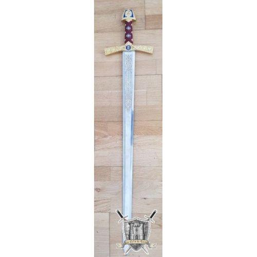 Epée de Richard coeur de Lion gravée