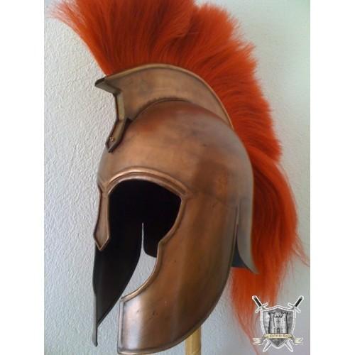 casque Troyen cuivre