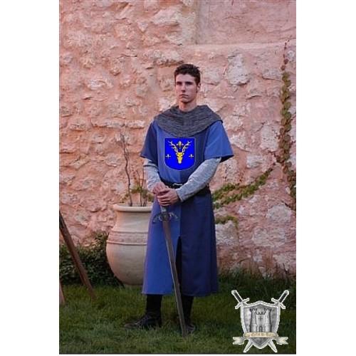 tabard de chevalier d'époque medievale