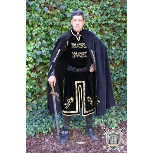 costume PRINCE cape et tunique